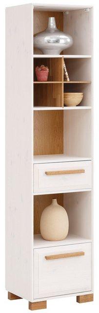 Küchenregale - Home affaire Regal »Ance«, Regal Ance aus Kiefer und Eiche massiv, Höhe 184 cm  - Onlineshop OTTO