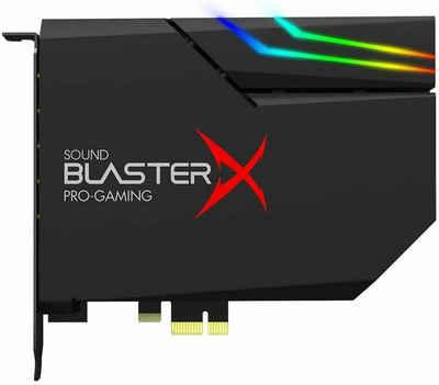 Creative Sound BlasterX AE-5 Plus interne PCI-e RGB Gaming Dolby Soundkarte schwarz Soundkarte