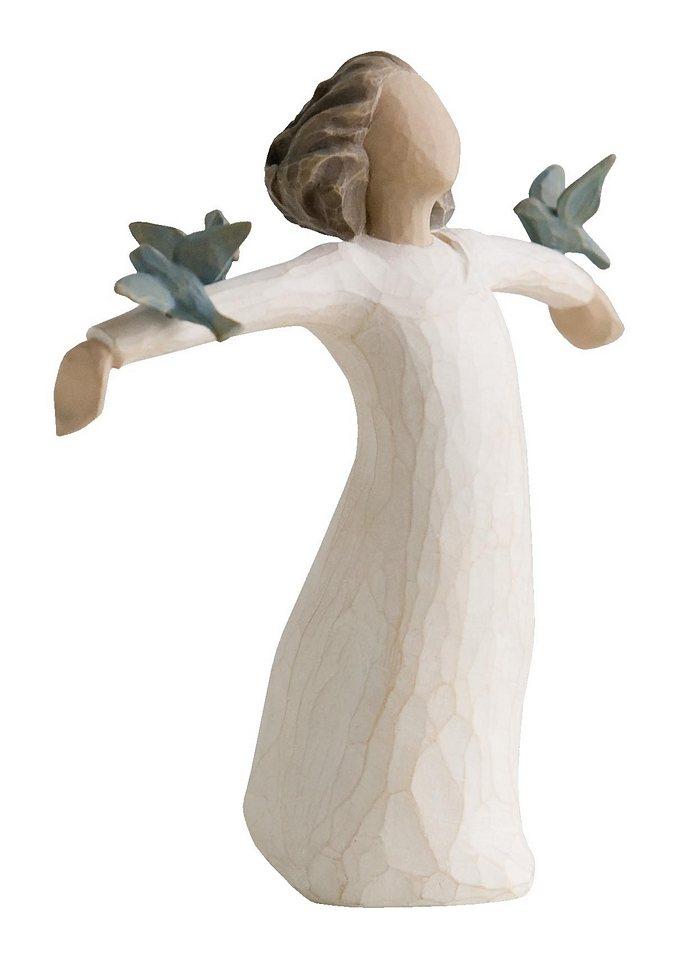 Figur, Willow Tree, »Fröhlichkeit« in natur