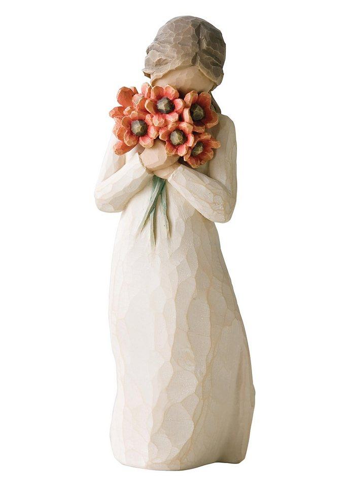 Figur, Willow Tree, »Umgeben von Liebe« in natur