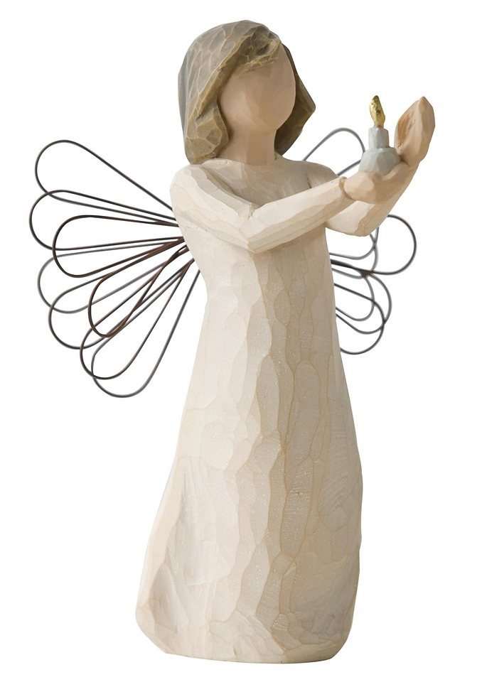 Figur, Willow Tree, »Schutzengel der Hoffnung« in natur