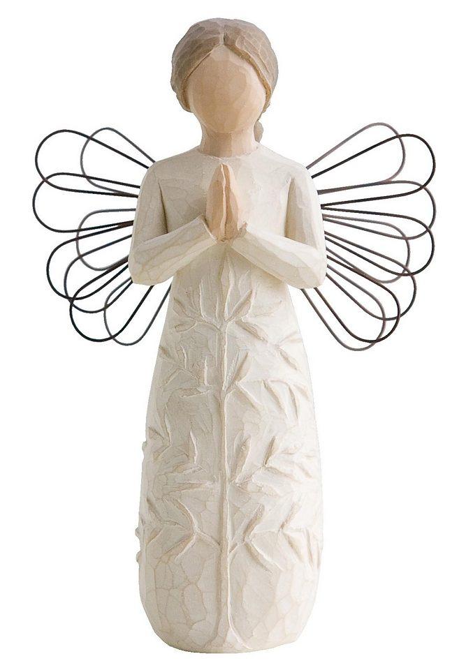Figur, Willow Tree, »Schutzengel - Dass Du jeden Tag Kraft, Schönheit und Frieden findest«