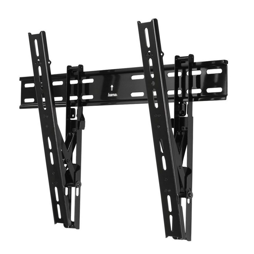 Hama TV-Wandhalterung TILT Ultraslim, 3 Sterne, 142 cm (56), Schwarz in Schwarz