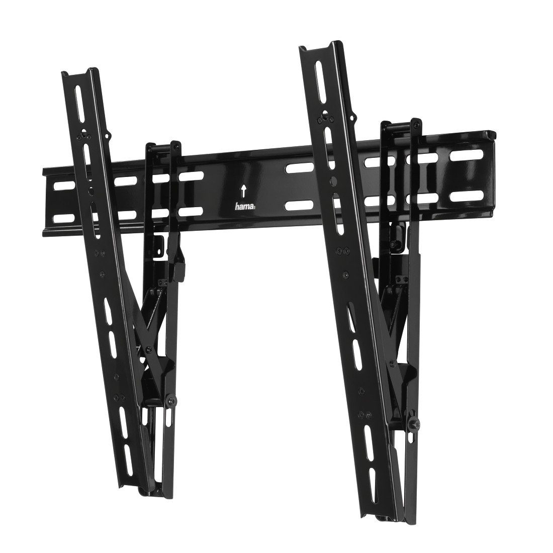 Hama TV-Wandhalterung TILT Ultraslim, 3 Sterne, 142 cm (56), Schwarz