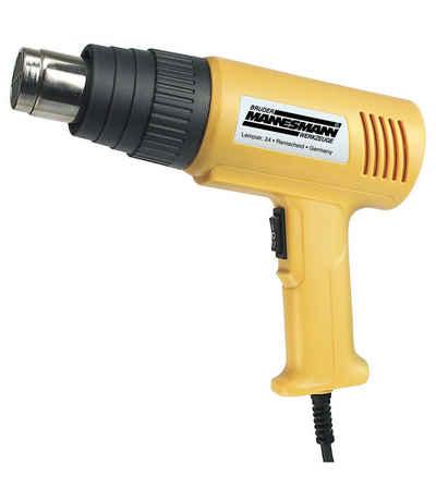 Brüder Mannesmann Werkzeuge Heißluftgebläse »2000 W«, 2000 in W, bis max. 550 °C, (Packung)