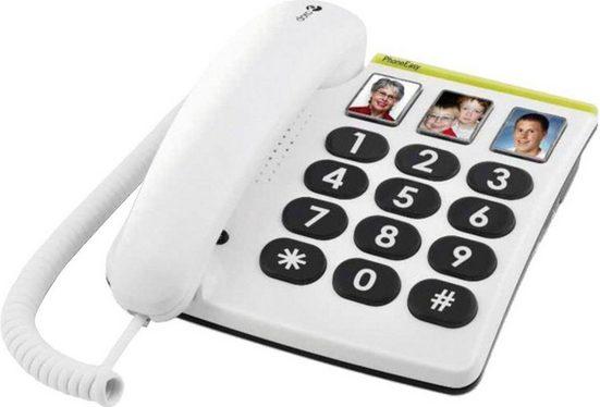 Doro »Großtastentelefon PhoneEasy 331ph« Kabelgebundenes Telefon (Fotowahltasten)