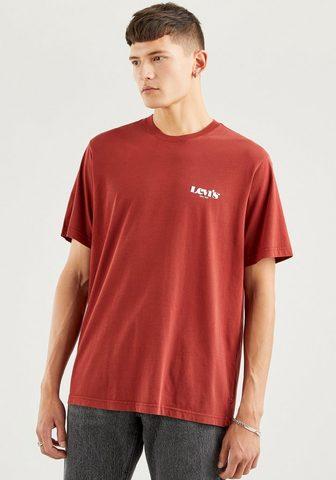 Levi's ® Kurzarmshirt su nedidelis Logoprint ...