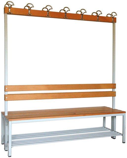 Garderoben Sets - SZAGATO Sitzbank doppelseitig nutzbar, inkl. Schuhrost  - Onlineshop OTTO
