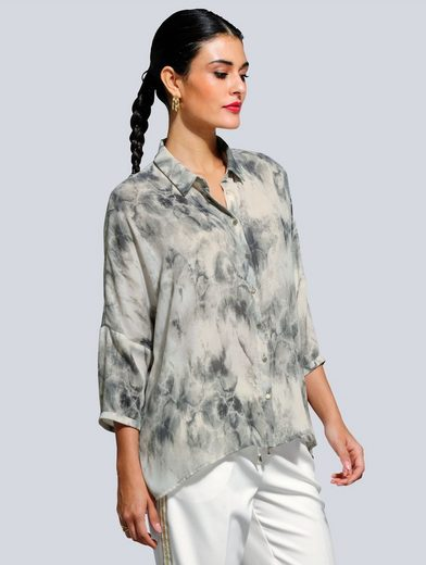 Alba Moda Bluse mit tollem Batik-Dessin