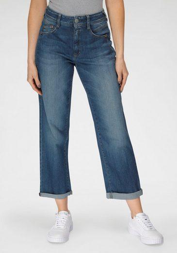 Herrlicher High-waist-Jeans »GILA HI TAP ORGANIC« umweltfreundlich dank Kitotex Technology