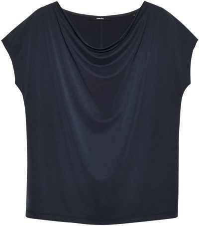 someday T-Shirt »Kivu« mit Wasserfallausschnitt