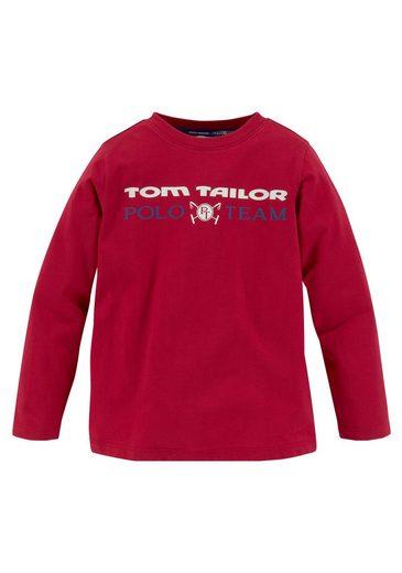 TOM TAILOR Polo Team Langarmshirt