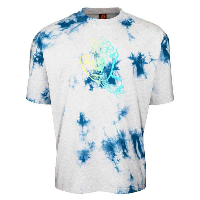 Santa Cruz T-Shirt »Outline Fade Hand - heather splash«