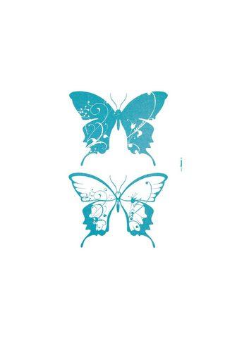 Komar Wandtattoo »Schmetterlinge«