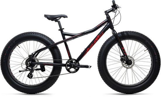 KS Cycling Fatbike »SNW2458«, 8 Gang Shimano Altus Schaltwerk, Kettenschaltung