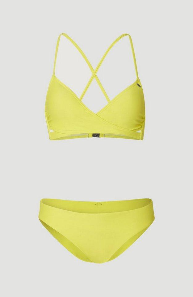Bademode - O'Neill Triangel Bikini »Baay Maoi« › gelb  - Onlineshop OTTO