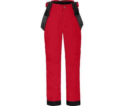 Bergson Skihose »LUCA« Kinder Skihose, wattiert, 12000 mm Wassersäule, Normalgrößen, China rot