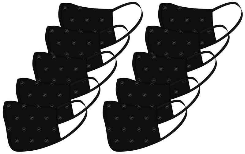 Terrax Workwear Community-Maske »TERRAX«, Packung, 10-St., schwarz, waschbar