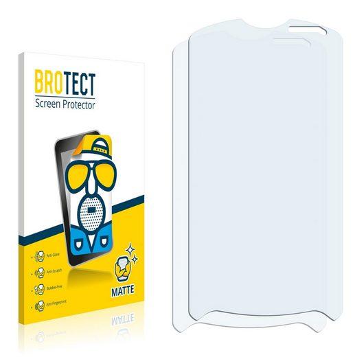 BROTECT Schutzfolie »für Sony Ericsson Xperia Pro MK16 MK16i«, (2 Stück), Folie Schutzfolie matt entspiegelt