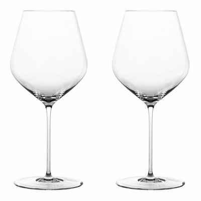 SPIEGELAU Gläser-Set »Highline Burgunder 2er Set«, Kristallglas