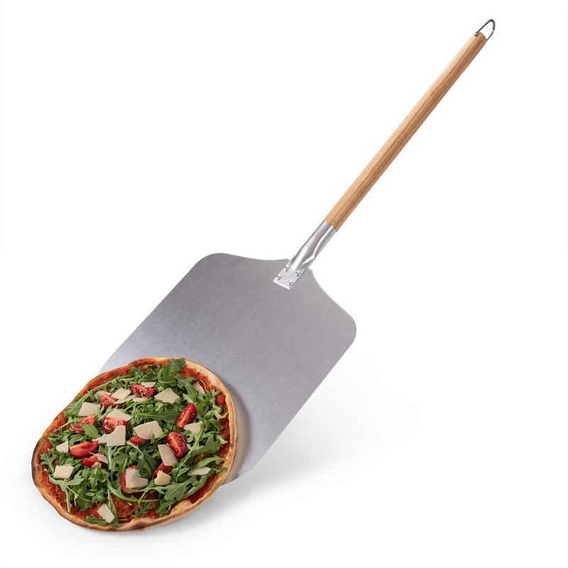 Blumtal Pizzaschieber »Pizzaschieber mit großer Fläche und Holzgriff«, (1 tlg), Mit abnehmbaren Griff