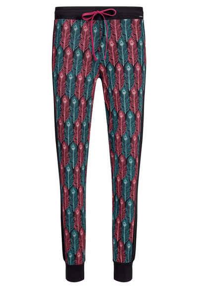 Skiny Pyjamahose »Skiny Damen Pyjama Hose« (1-tlg) Modisches Design