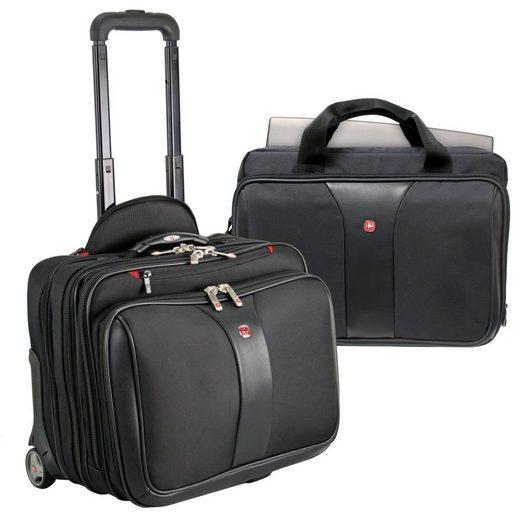 Wenger Business-Trolley »Laptoptrolley«, 2 Rollen, Nylon