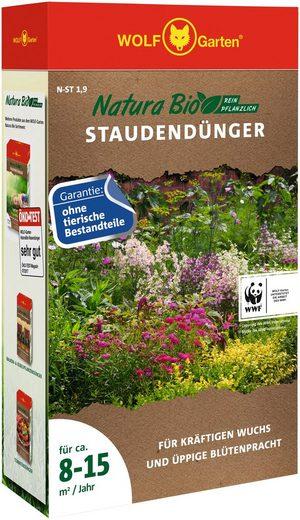 WOLF-Garten Pflanzendünger »Natura-Bio N-ST 1,9«, Granulat, 1,9 kg