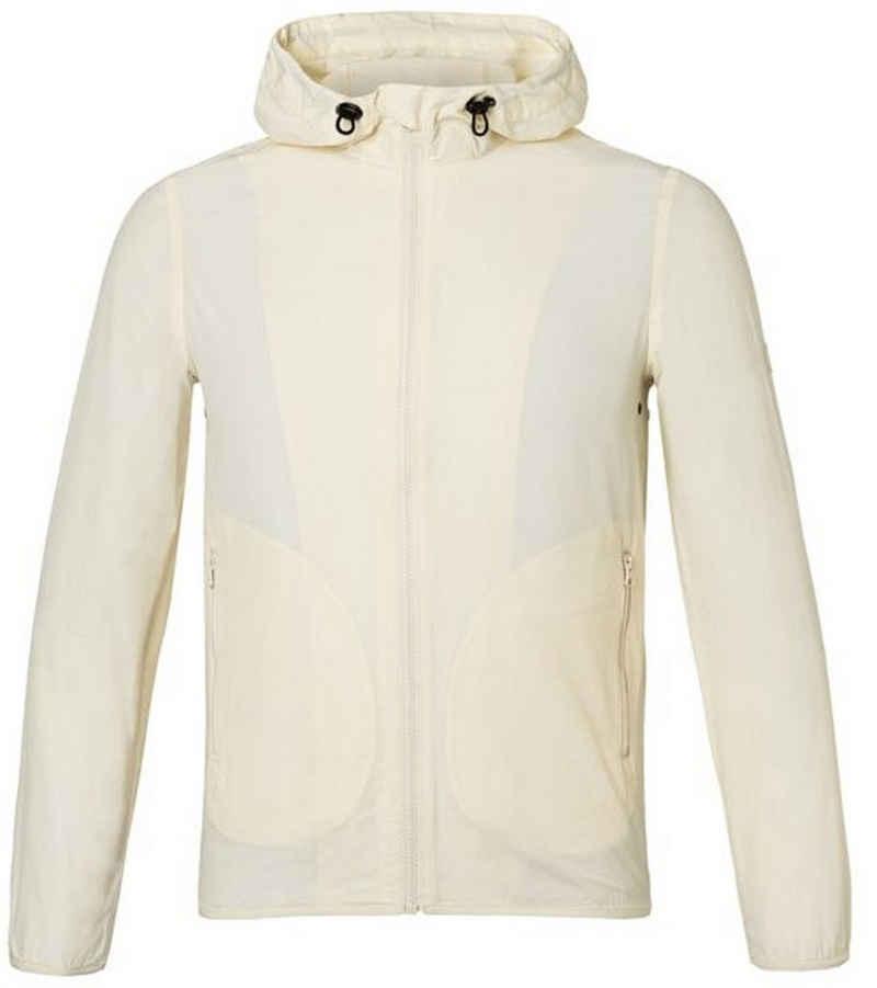 LangerChen Outdoorjacke »LANGERCHEN Fairford Blouson-Jacke leichte Jacke in frischem Design Freizeit-Jacke Weiß«