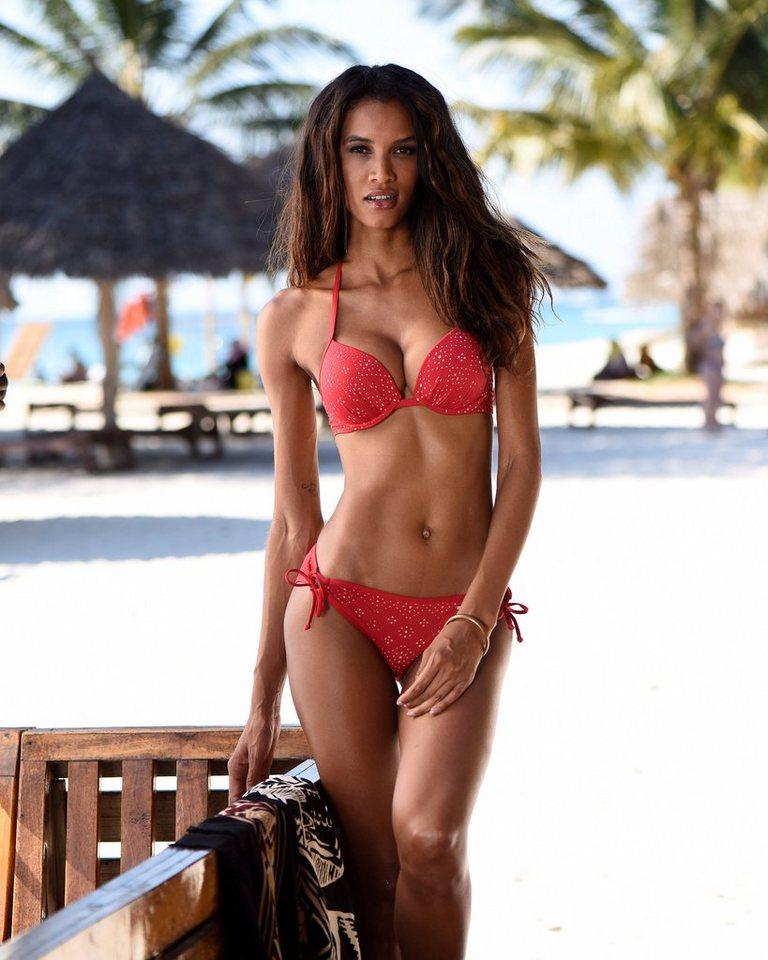 Bademode - Sunseeker Bikini Hose »Femme«, mit Cut Outs › rot  - Onlineshop OTTO