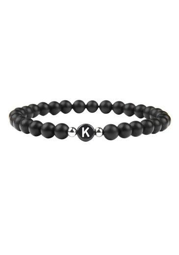 GOOD.designs Armband »Buchstabenperlen K«