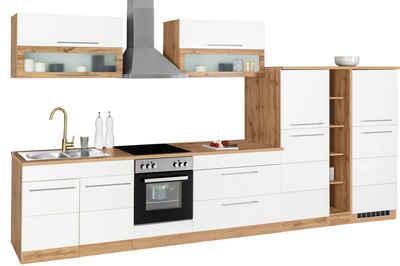 HELD MÖBEL Küchenzeile »Wien«, ohne E-Geräte, Breite 410 cm