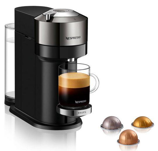 Nespresso Kapselmaschine XN910C Vertuo Next, neuartiges Kapselsystem, 54% aus recyceltem Material