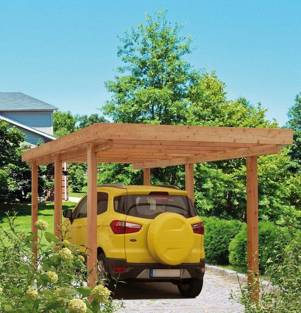 Kiehn-Holz Einzelcarport »Berlin«, BxT: 304 x 508 cm | Baumarkt > Garagen und Carports > Carports | Kiehn-Holz