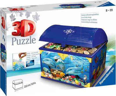 Ravensburger 3D-Puzzle »Schatztruhe Unterwasserwelt«, 216 Puzzleteile, Made in Europe, FSC® - schützt Wald - weltweit