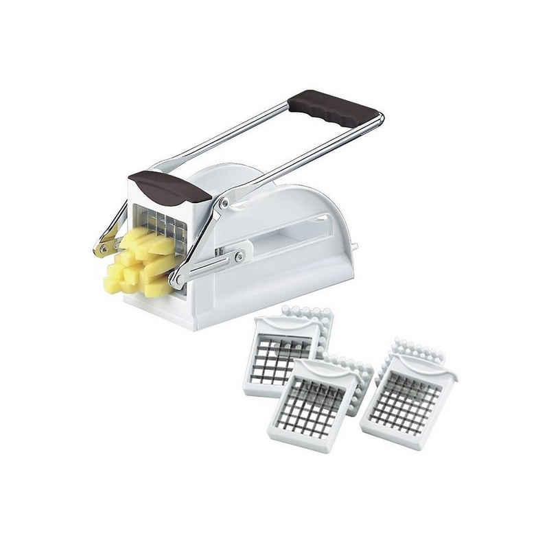 WESTMARK Küchenorganizer-Set »Pommes-Frites Schneider mit 3 Einsätzen«