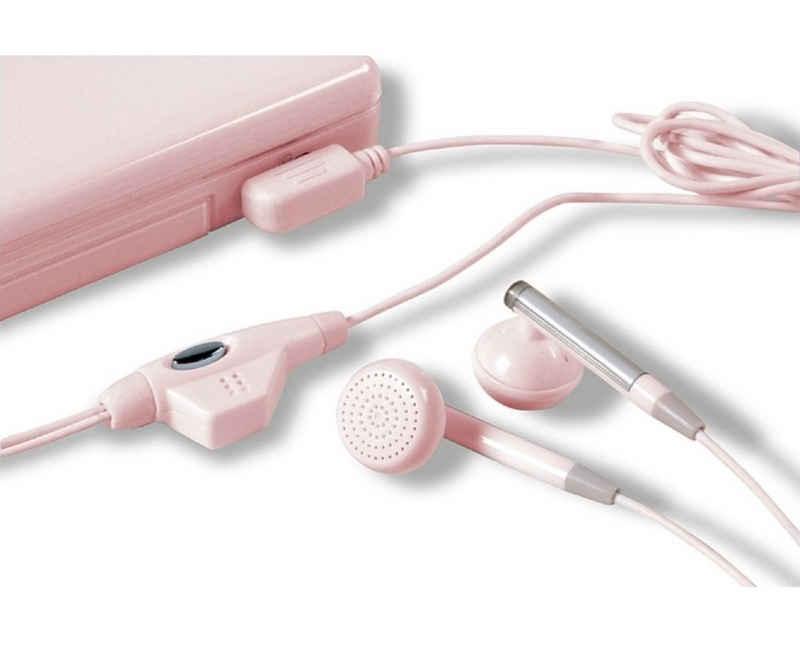 Speedlink »Headset PINK Kopfhörer + Mikrofon Gaming-Headset« Gaming-Headset (kristallklare Klangübertragung, Stereo, für Nintendo DSi DSi DSi XL DS Lite DS NDS)