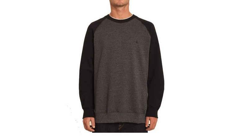 Volcom Longpullover »Volcom Herren Sweater Homak Crew grau«