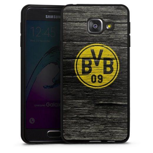 DeinDesign Handyhülle »BVB Holzoptik« Samsung Galaxy A3 (2016), Hülle Borussia Dortmund BVB Holzoptik