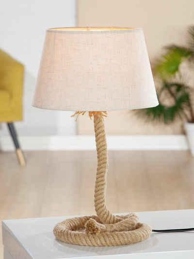 GILDE Nachttischlampe »Lampe Tau-Design«