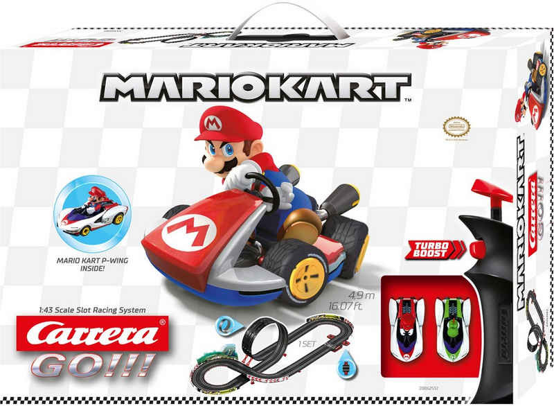 Carrera® Autorennbahn »Carrera GO!!! - Nintendo Mario Kart - P-Wing« (Streckenlänge 4,9 Meter)