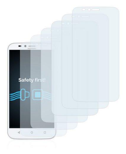 Savvies Schutzfolie »für Huawei Y625«, (6 Stück), Folie Schutzfolie klar