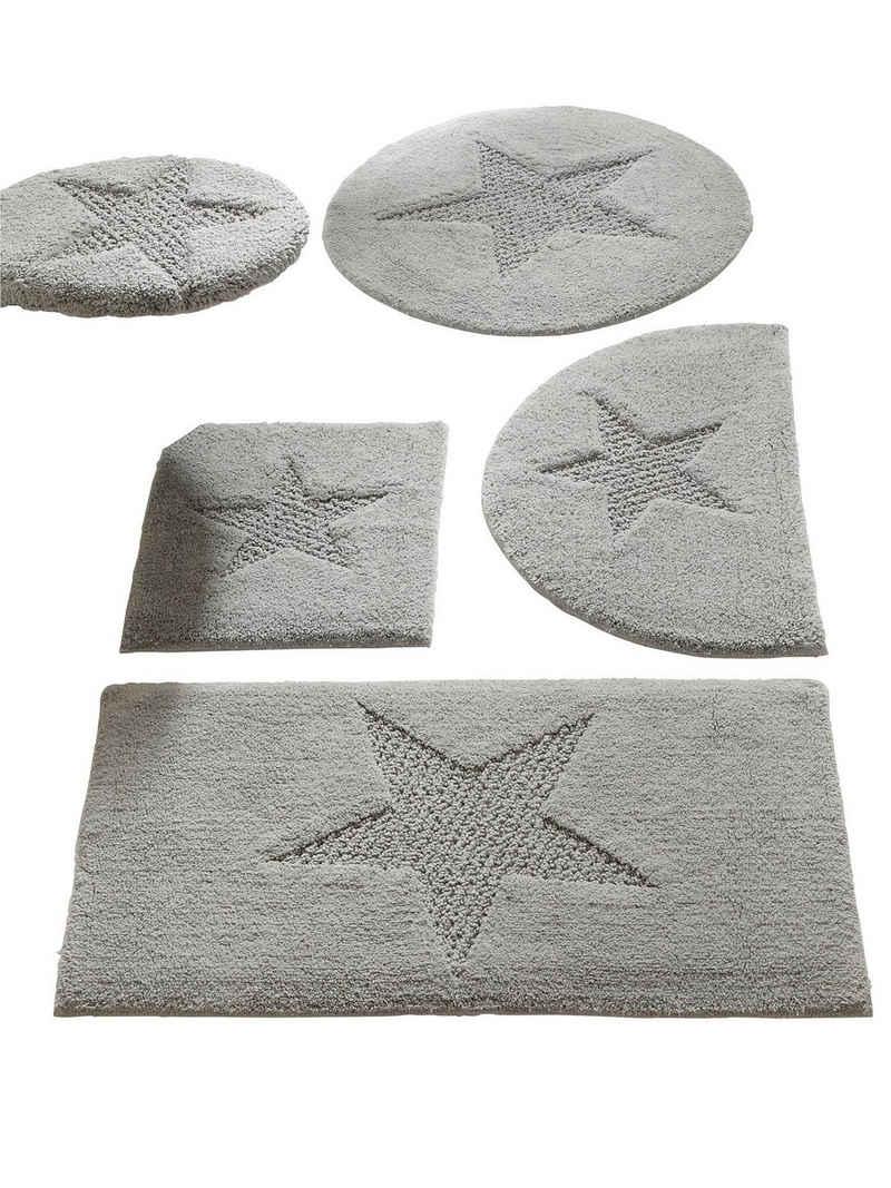 Badteppich mit Stern-Motiv