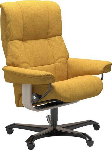 Stressless® Relaxsessel »Mayfair«, mit Home Office Base, Größe M, Gestell Whitewash