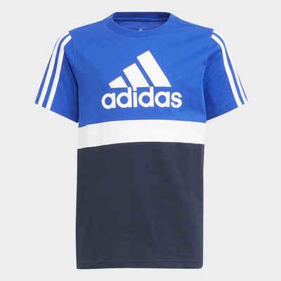 adidas Performance T-Shirt »COLORBLOCK ESSENTIALS JUNIOR REGULAR MENS«