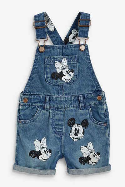 Next Latzhose »Mickey und Minnie Mouse™ Denim-Latzhose« (1-tlg)