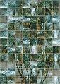 Komar Fototapete »Vliestapete Palm Puzzle«, glatt, bedruckt, gemustert, geometrisch, realistisch, 200 x 280 cm, Bild 1
