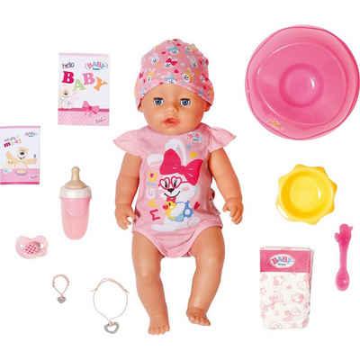 Zapf Creation® Babypuppe »BABY born® Magic Girl Brown Eyes 43 cm«