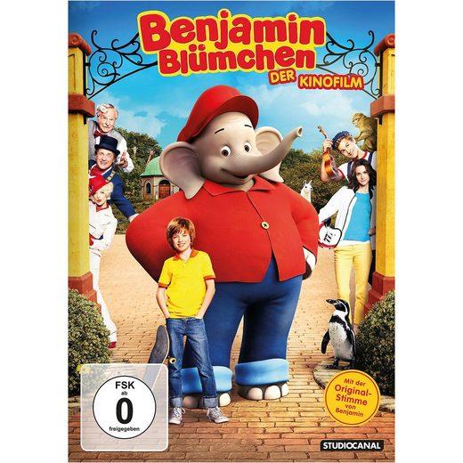 Kiddinx DVD Benjamin Blümchen - Der Kinofilm
