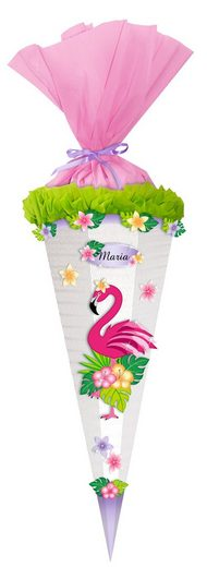 "URSUS Bastelset Schultüte ""Flamingo"" 68 cm"